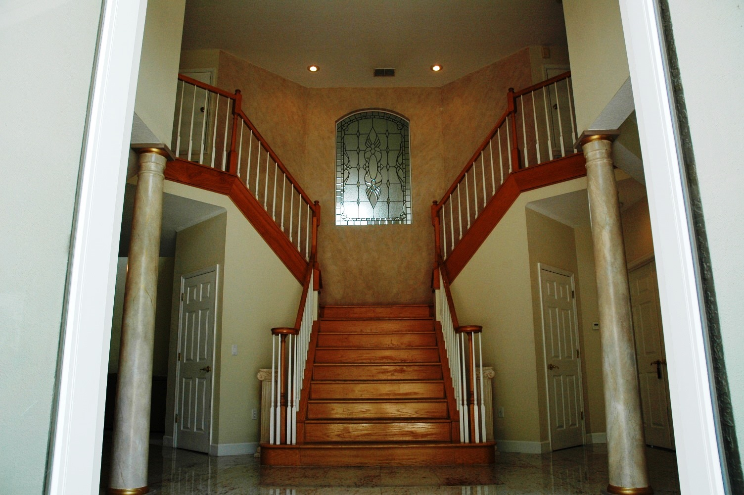 Foyer Stairs For Sale : Capitol drive palm harbor florida usa luxury home for