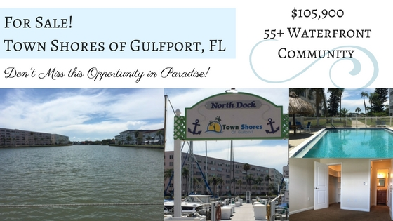 Back on the Market! Town Shores of Gulfport, FL